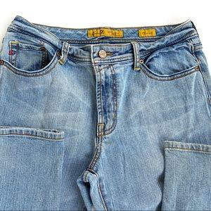 Seven Vintage Jeans Size 8 Light Wash Flare Legs